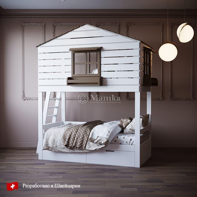Детская кровать Фам - фабрика мебели Mamka