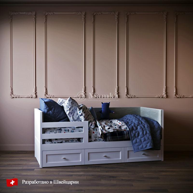 Детская кровать Стрикс - фабрика мебели Mamka