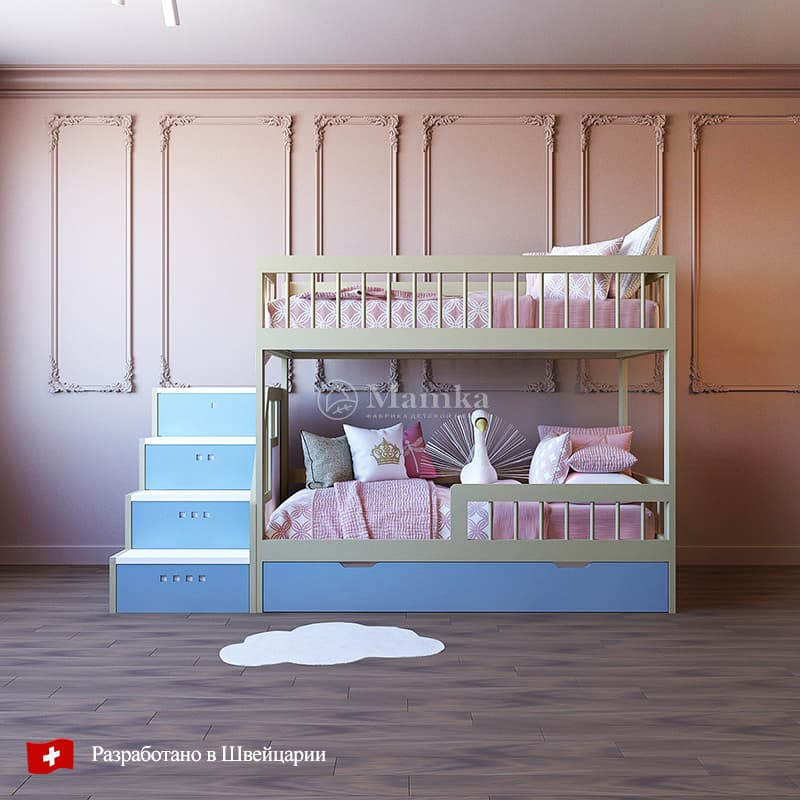 Детская кровать Туби - фабрика мебели Mamka