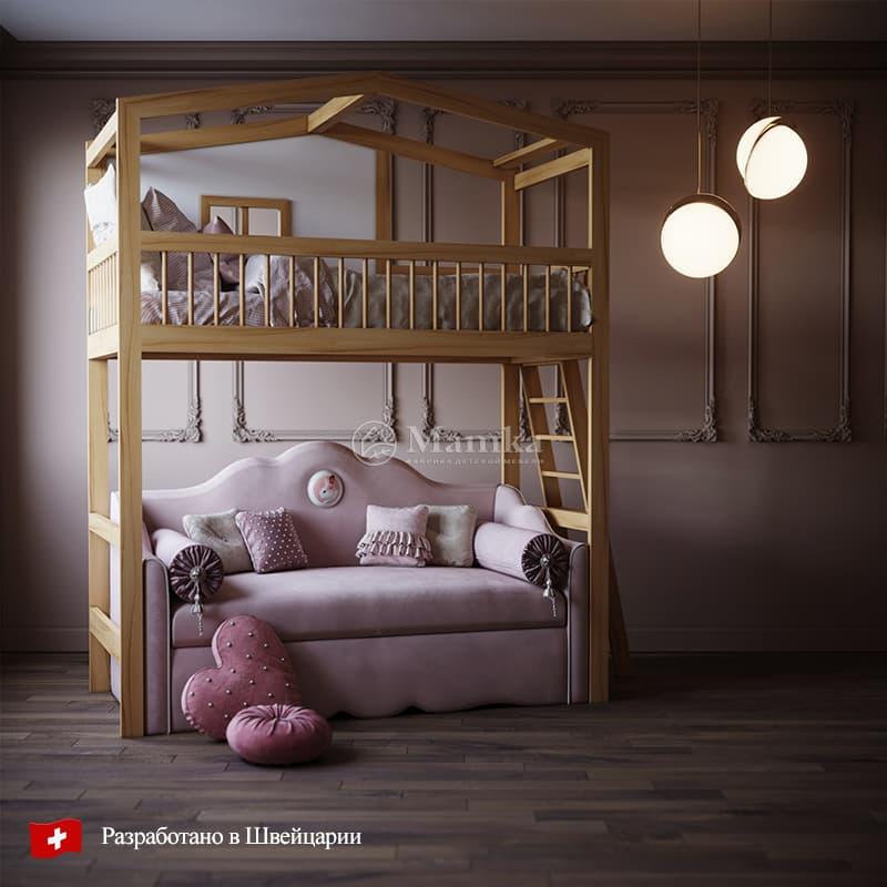 Детская кровать Шато - фабрика мебели Mamka