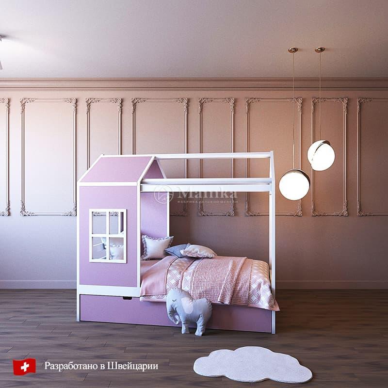 Детская кровать Шелт - фабрика мебели Mamka