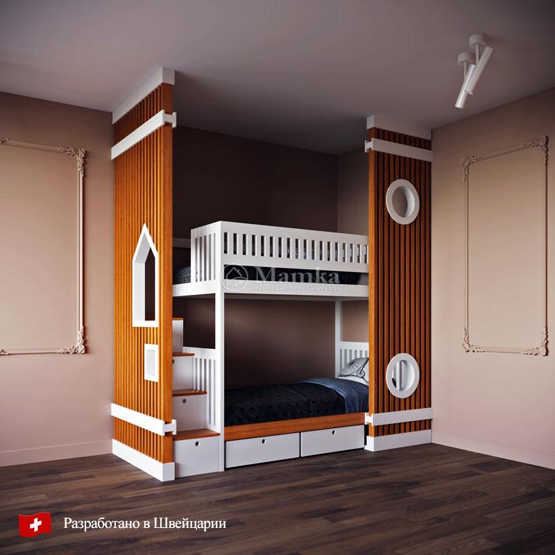 Детская кровать Артур - фабрика мебели Mamka