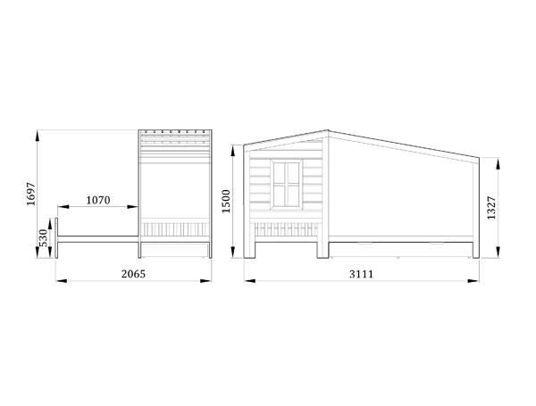 Детская кровать Шепот - фабрика мебели Mamka