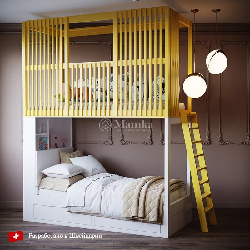 Детская кровать Зузу - фабрика мебели Mamka