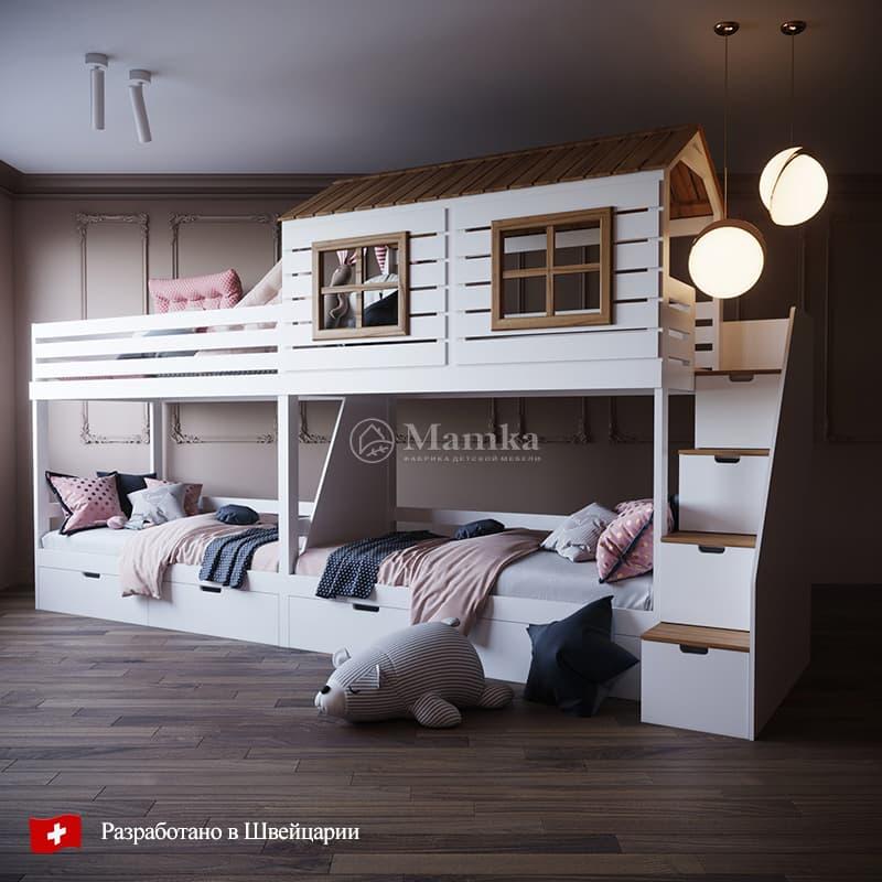 Детская кровать Вайлд Вэст - фабрика мебели Mamka