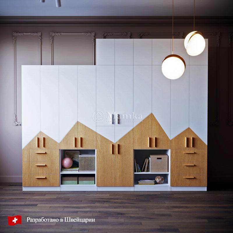 Детский шкаф Берг - фабрика мебели Mamka