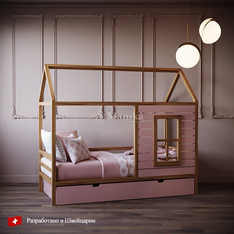 Детская кровать Вилли - фабрика мебели Mamka