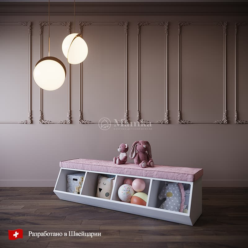 Скамья Хип - фабрика мебели Mamka