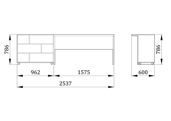 Детский стол Лонг - фабрика мебели Mamka