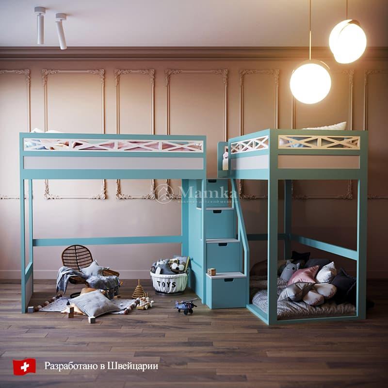 Детская кровать Нейбэ - фабрика мебели Mamka