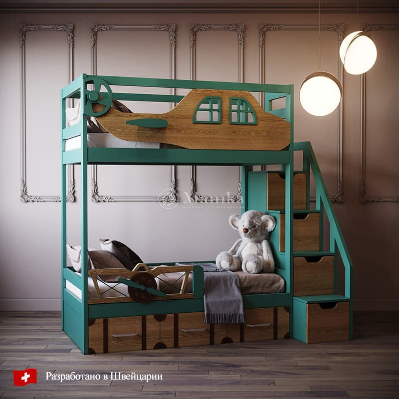 Детская кровать Гринванд - фабрика мебели Mamka