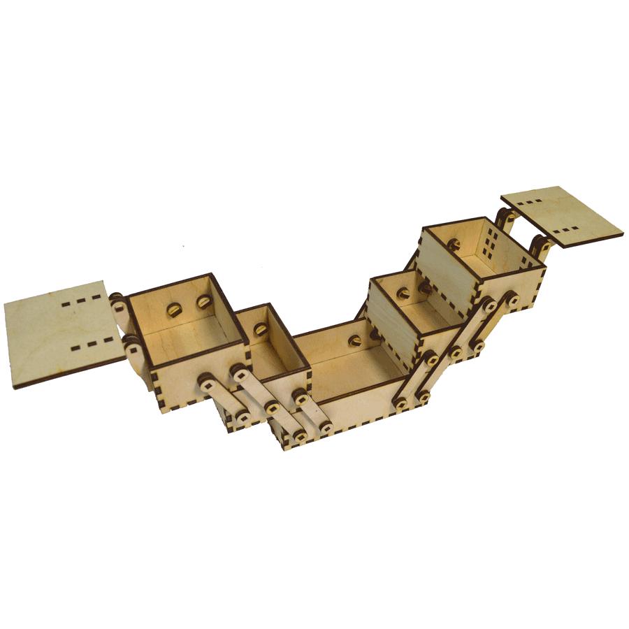 картинка Шкатулка раскладная, арт. Ф00057 - подарки и декор из дерева - подереву.рф