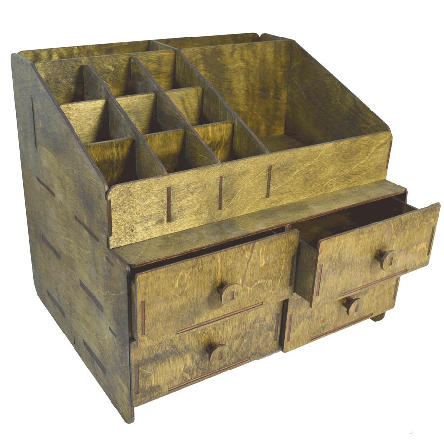 картинка Комод настольный, арт. Ф00091 - подарки и декор из дерева - подереву.рф