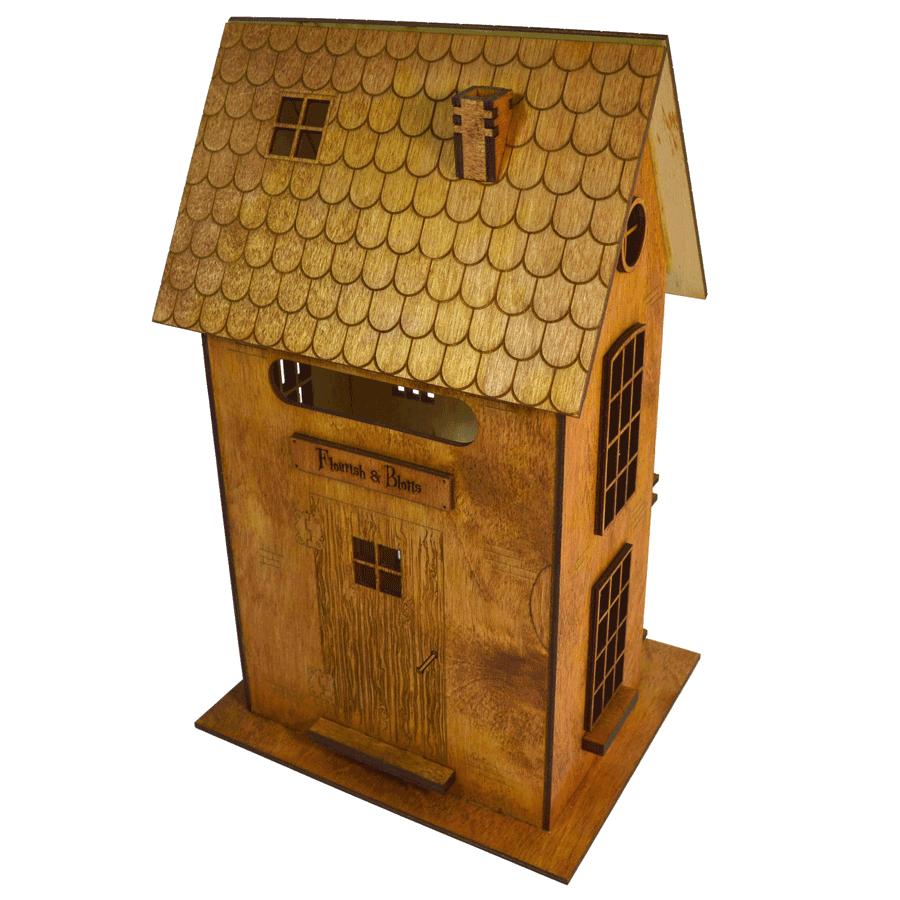 картинка Модель магазина Flourish & Blotts, арт. Ф00049 - подарки и декор из дерева - подереву.рф