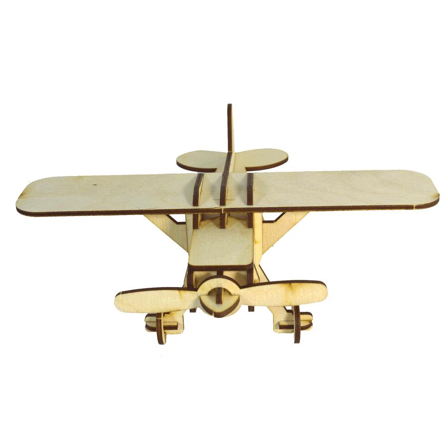 картинка Модель самолёта малая, арт. Ф00044 - подарки и декор из дерева - подереву.рф