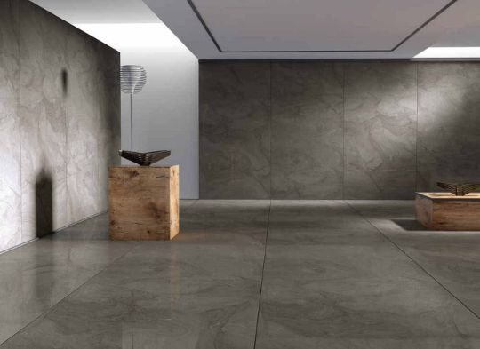 Облицовка стен и пола керамогранитом