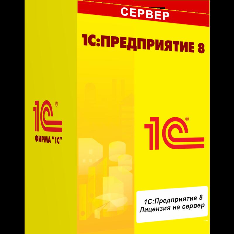 1С:Лицензия на сервер. Электронная поставка - Компания MAXIS