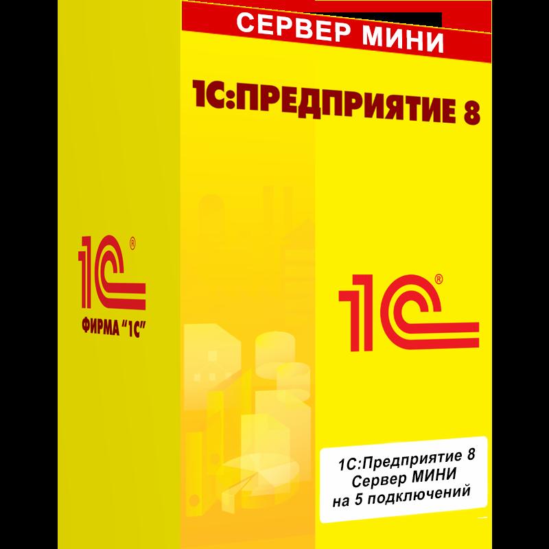 1С:Сервер МИНИ на 5 подключений. Электронная поставка - Компания MAXIS