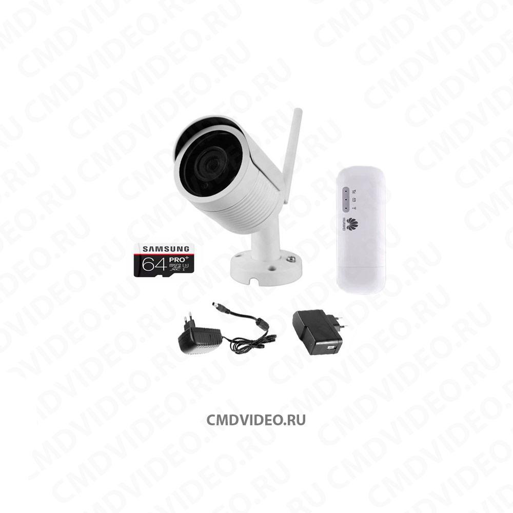 картинка CMD IP1080 WI-FI KIT-1 комплект видеонаблюдения на одну камеру CMDVIDEO.RU | Челябинск