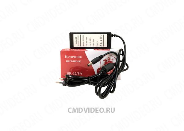 картинка Блок питания SarmatT 12 вольт 3 ампер от магазина CMDVIDEO.RU | Челябинск