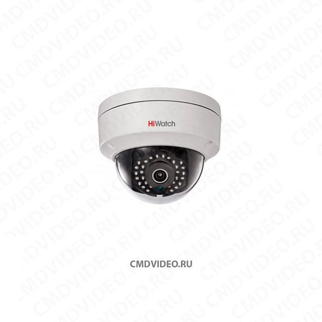 картинка HiWatch DS-I122 IP камера видеонаблюдения 1.3 Мп 2.8 мм CMDVIDEO.RU   Челябинск