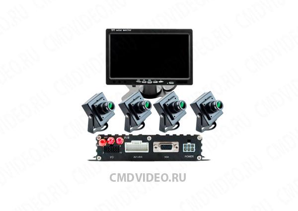 картинка Комплект видеонаблюдения в учебный автомобиль 4-канальный от магазина Одежда+