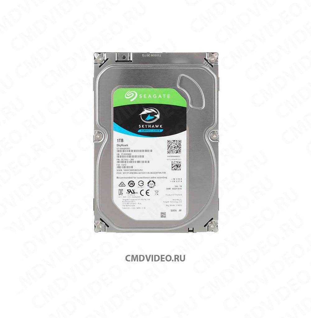 "картинка Жесткий диск SEAGATE Skyhawk ST1000VX005, 1Тб, HDD, SATA III, 3.5"" CMDVIDEO.RU   Челябинск"