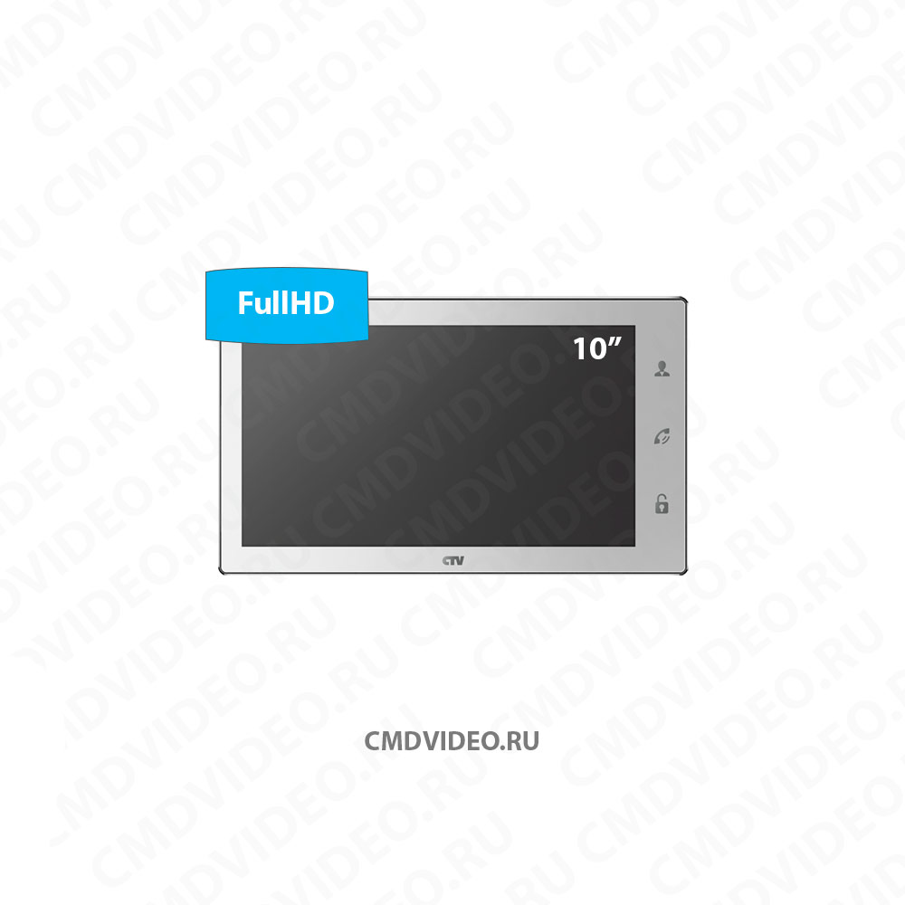 картинка CTV-M4102FHD IP монитор видеодомофона CMDVIDEO.RU | Челябинск
