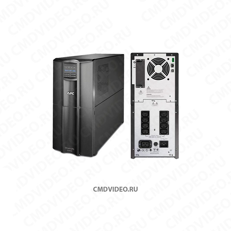картинка ИБП APC Smart-UPS SMT2200I, 2200ВA от магазина CMDVIDEO.RU | Челябинск