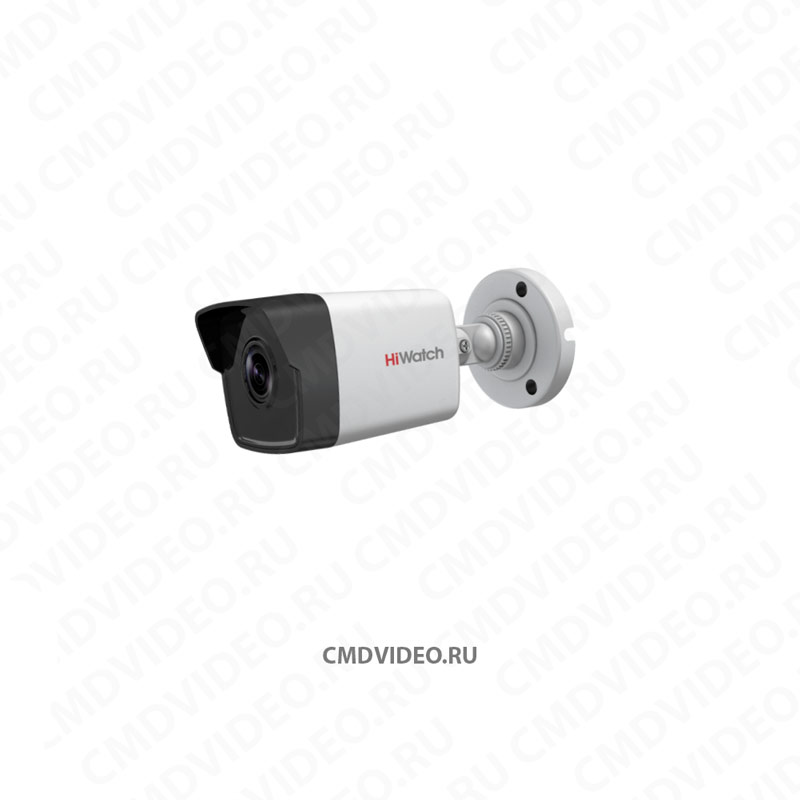 картинка HiWatch DS-I100 IP камера видеонаблюдения 1 Мп 4 мм CMDVIDEO.RU | Челябинск