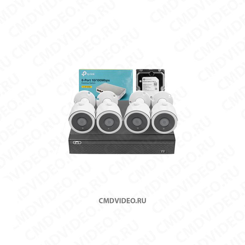 картинка CMD IP1080-KIT STANDART комплект видеонаблюдения CMDVIDEO. RU | Челябинск