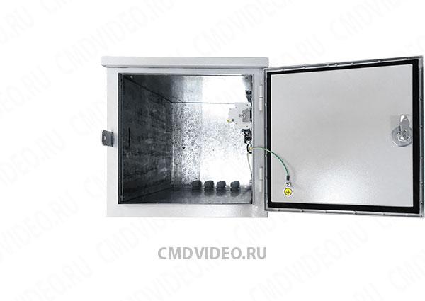 картинка ЩВУ-04 Шкаф для видеонаблюдения с подогревом от магазина CMDVIDEO.RU | Челябинск