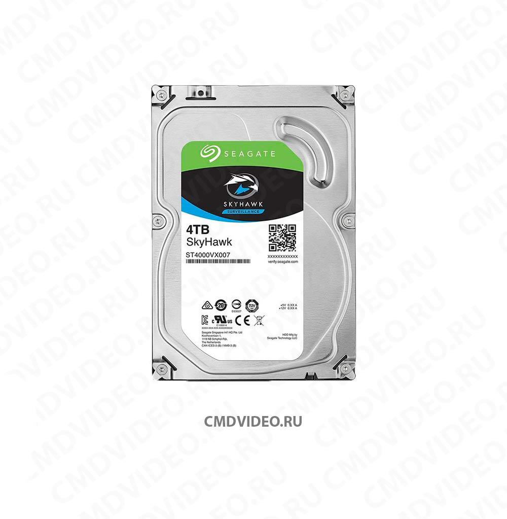 "картинка Жесткий диск SEAGATE Skyhawk ST4000VX007, 4Тб, HDD, SATA III, 3.5"" CMDVIDEO.RU | Челябинск"