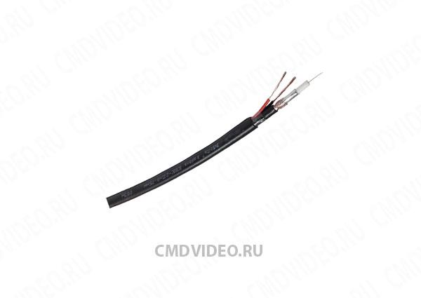 картинка КВК-2П-2x0.75 Внешний кабель комбинированный для видеонаблюдения от магазина CMDVIDEO.RU   Челябинск