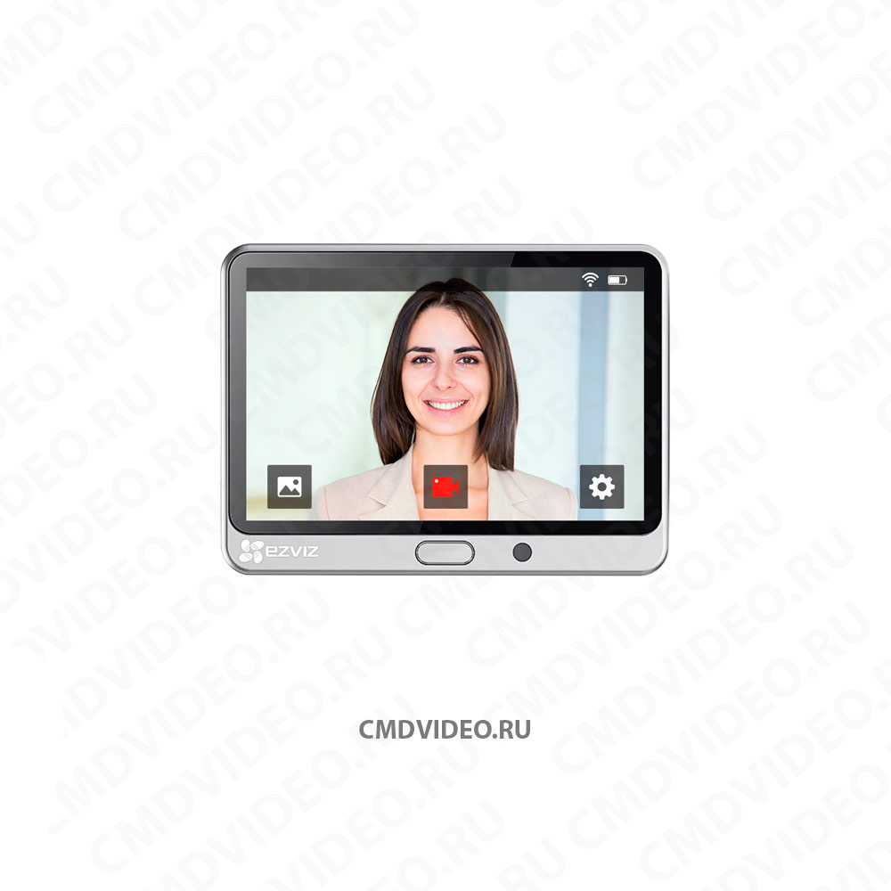 картинка EZVIZ DP1 видеоглазок с WI-FI CMDVIDEO.RU | Челябинск