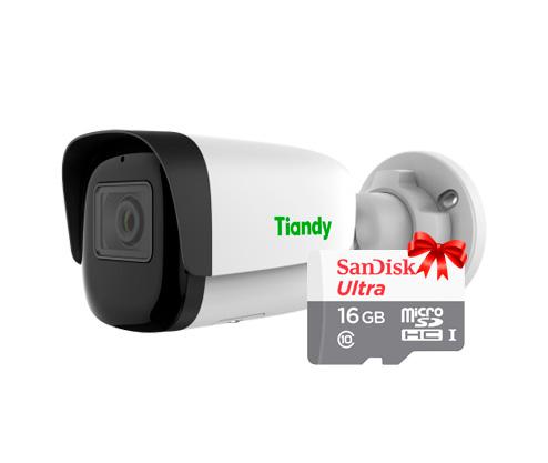картинка Tiandy 16GB KIT комплект видеонаблюдения на 1 камеру CMDVIDEO.RU | Челябинск