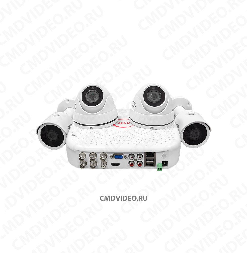 картинка CMD-HD-4-KIT AHD Комплект видеонаблюдения на 4 камеры CMDVIDEO.RU | Челябинск