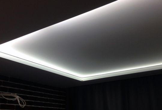 Натяжной Потолок с Подсветкой – 2 метра в Подарок!