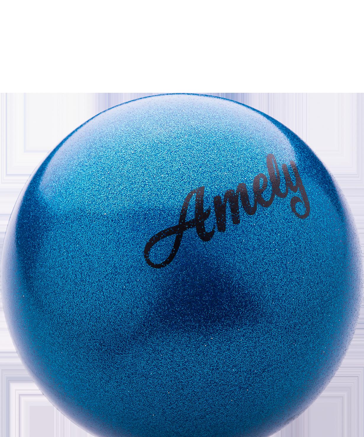 картинка Мяч для художественной гимнастики с насыщенными блестками 15 см от магазина Одежда+
