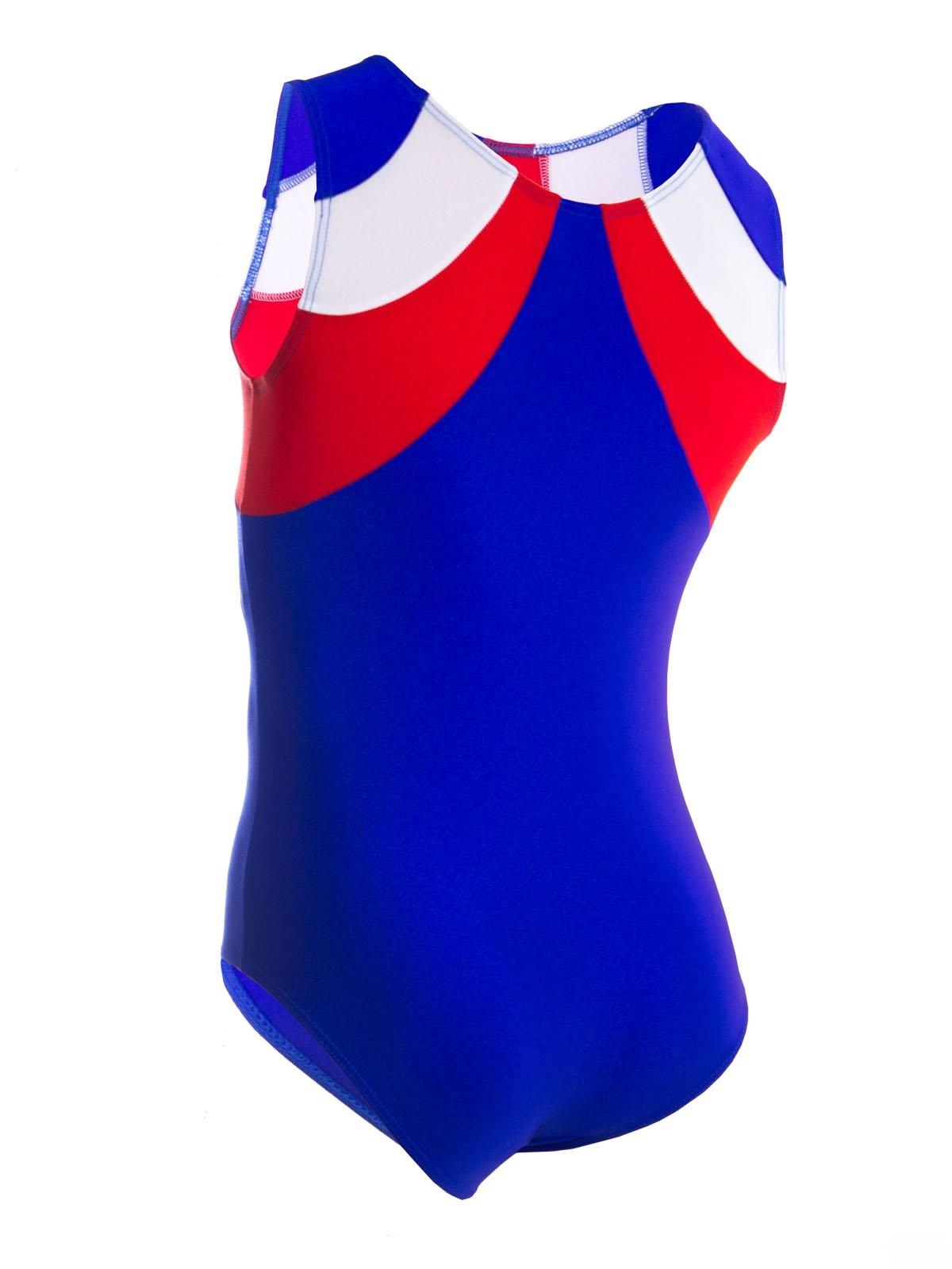 картинка Купальник для спортивной гимнастики со вставками для подростка от магазина Одежда+