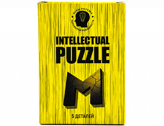 Intellectual Puzzle Буква М (Интеллектуальный Пазл Буква М)