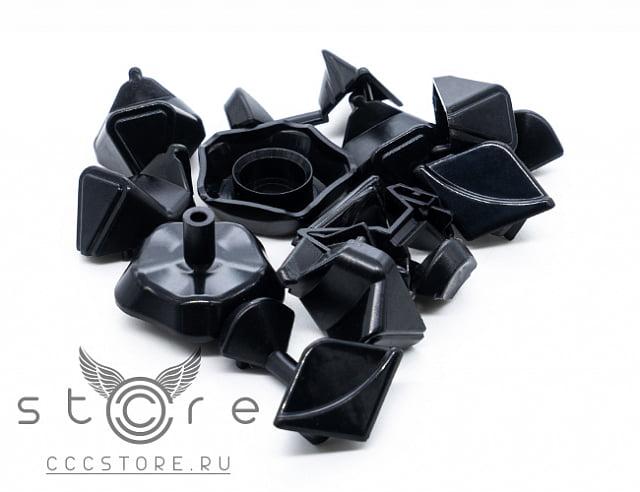 YJ Megaminx YuHu V2 M Запчасти (Черная сторона) (ВайДжей Мегаминкс ЮХу в2 М Запчасти (Черная сторона))