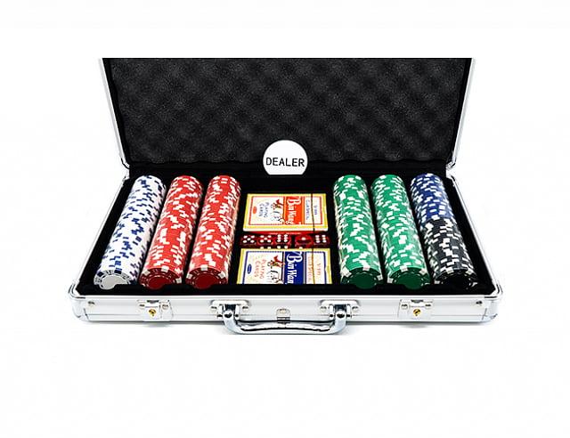 Профессиональный набор для игры в покер Dice 300