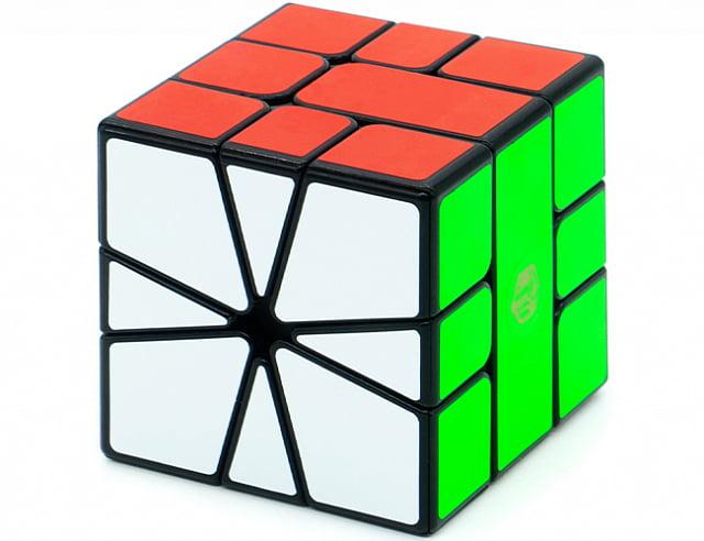 QiYi MoFangGe X-Man Square-1 Volt V2 (Full Magnetic) (Чии Мофанг Икс-Мэн Скваер-1 Вольт в2 Фулл Магнетик)
