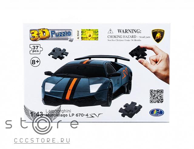 3D Puzzle Lamborghini LP670 (Эврика 3Д Пазл Ламборджини ЛП670)