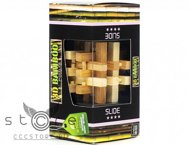 Eureka Деревянная головоломка Слайд