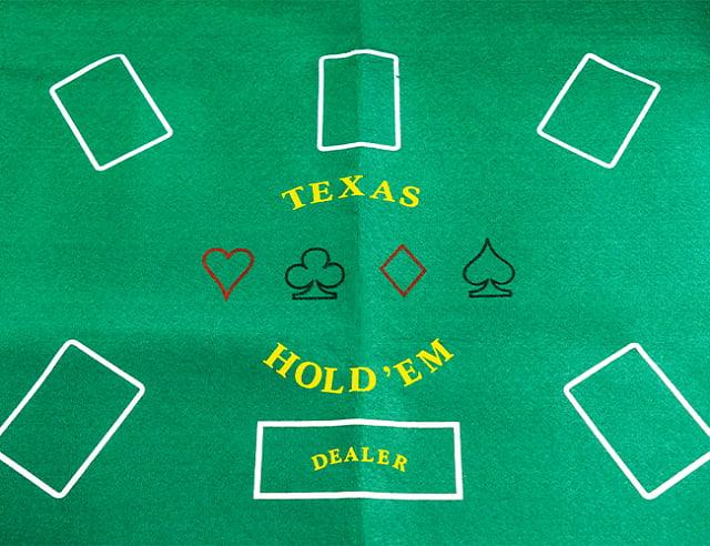 Сукно для игры в покер 120х60см