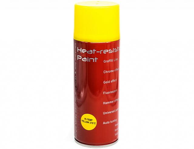 Термостойкая краска 270 ярко-желтая