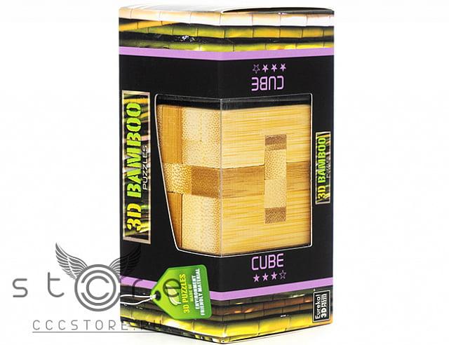 Eureka Деревянная головоломка Куб