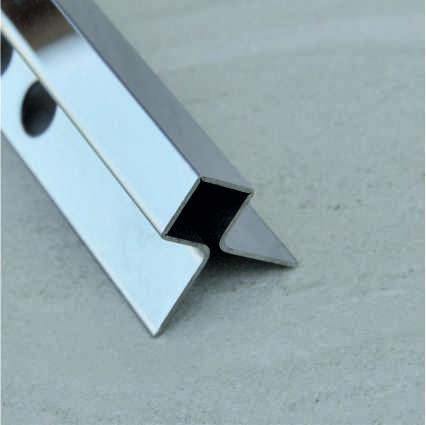 картинка Tile Trim Silver SB020-1S-10H отJuliano